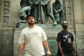 Emanon+statues